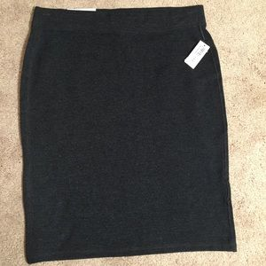 NWT Old Navy grey skirt size S
